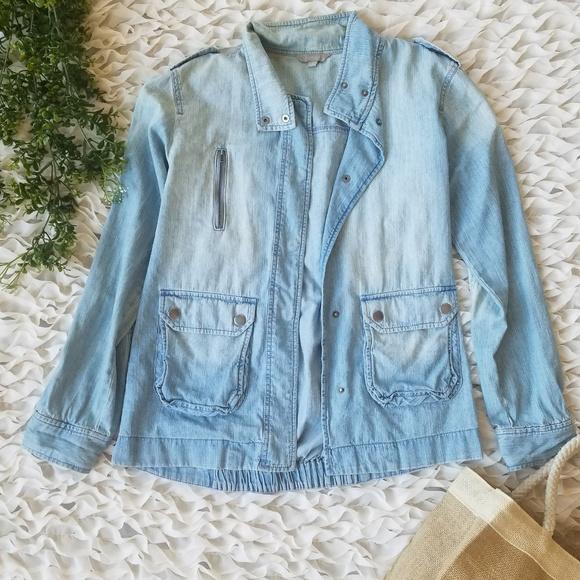 Rubbish Jackets & Blazers - RUBBISH Chambray Jacket